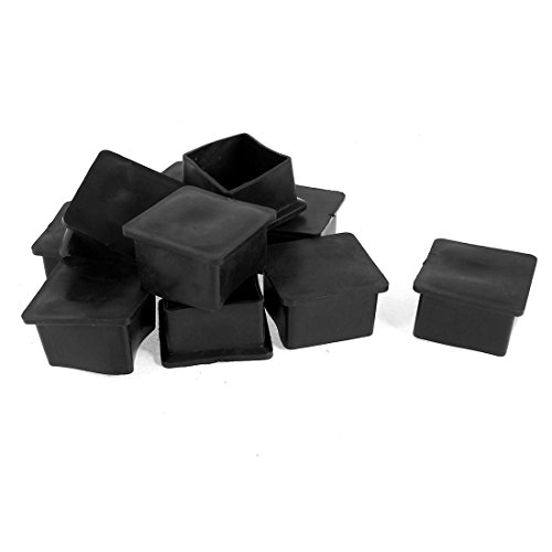 10 Pcs Rubber 40X40Mm Chair Table Foot Cover Furniture Leg Protectors front-985985