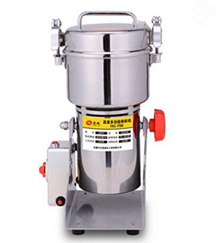 Welljun 700g Stainless Steel Grains Food Mill Major Grinding Machine Grinder Food Pulverizer (Chinese Medicine Grinder compare prices)