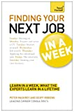 img - for Finding Your Next Job in a Week: Teach Yourself book / textbook / text book
