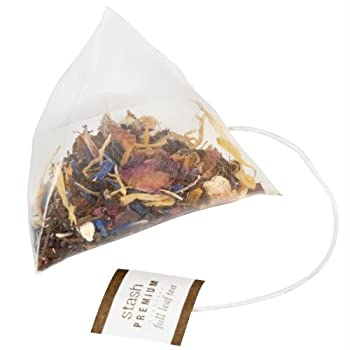 White Bouquet Pyramid Tea Bag