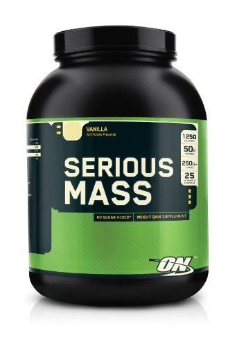 Optimum Nutrition Serious Mass Vanilla 6Lb Weight Gainer
