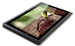 """CONNECT A7 Classic Tablette Tactile - Noir - 7"""" pouces écran capacitif, Android 4.1, 4 Go de stockage, 1.2GHz processeur, double caméra, WIFI, vidéo HD, batterie 3000mah, Google Play (Noir)"""