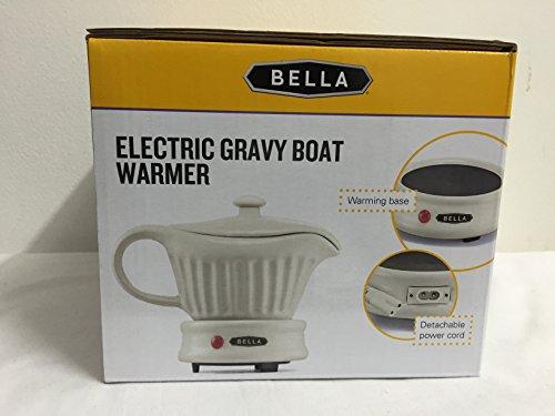 Electric Gravy Boat ~ Bella electric gravy boat warmer ceramic with lid