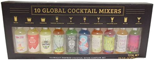 Globally Inspired Cocktail Mixer Sampler Set 10 Ct