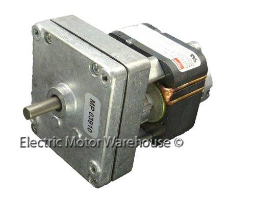 DAYTON 1MBF5 AC Gearmotor,6.6 rpm,Open,115V