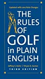 img - for The Rules of Golf in Plain English, Third Edition by Jeffrey S. Kuhn (2012-04-20) book / textbook / text book