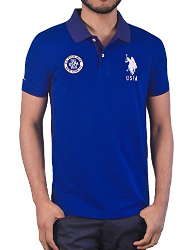 us-polo-association-mens-slim-fit-solid-crest-polo-blue-raft-m