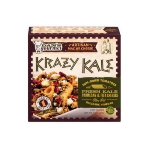Dans Gourmet Krazy Kale Artisan Macaroni and Cheese, 9 Ounce -- 8 per case. (Macaroni And Cheese Topping compare prices)