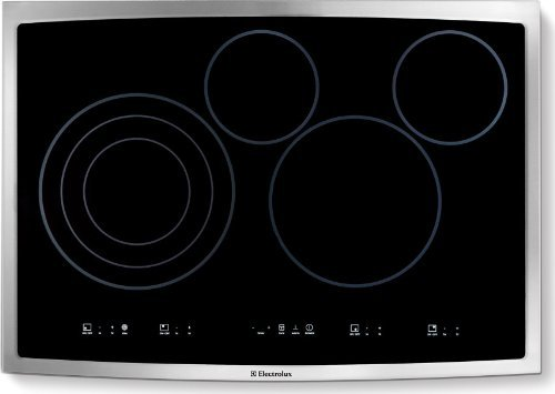 Electrolux Ei30Ec45Ks Smooth Surface Electric Cooktop, 30-Inch, Black
