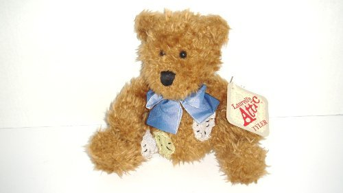 Laurell's Attic Patched Teddy Bear Tyler Bean Plush