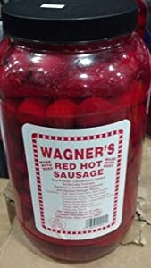 Wagner's Red Hot Sausage 4 Lb. (Made with Beef)