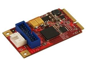 Koutech Mini PCI Express 2-Port SuperSpeed USB 3.0 w/ICC
