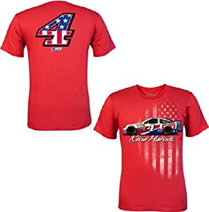 Kevin Harvick Chase Authentics Budweiser American Salute Tee - 2014-Large by Chase Authentics