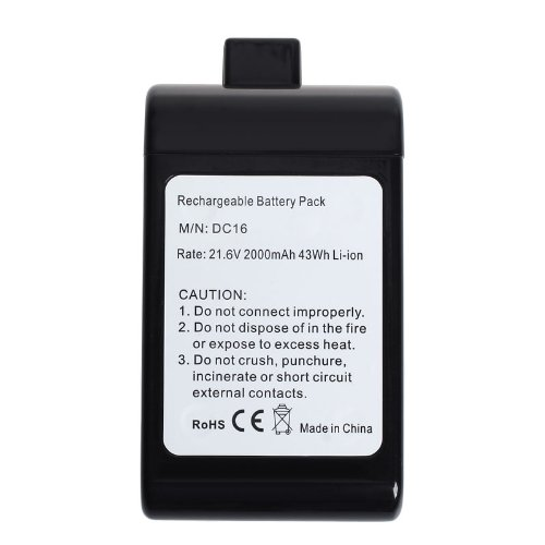 2000Mah Extended Capacity Battery For Dyson Dc16 Root 6 Vacuum Cleaner ; Animal ; Issey Miyake; 912433-01 912433-03 912433-04