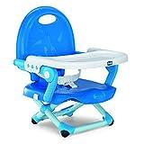 Chicco 07079340420000 Pocket Snack Rialzo Sedia, Blu