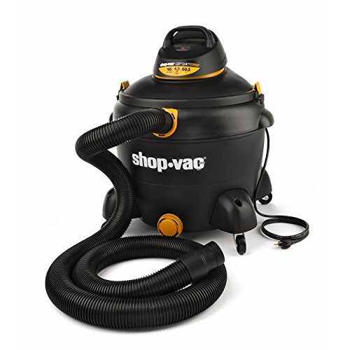 Shop-Vac 5983300 16 Gallon 6.5 Peak HP Quiet Deluxe Wet/Dry Vacuum (Shop Vac Hose Storage compare prices)