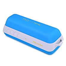 buy V-Sonic V-Q2 Portable Rechargeable Bluetooth Speakers Mp3 Player Fm Radio Blue
