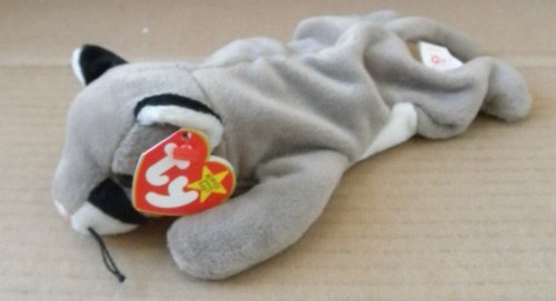 TY Beanie Babies Canyon the Cougar Stuffed Animal Plush Toy - 8 inches long - 1