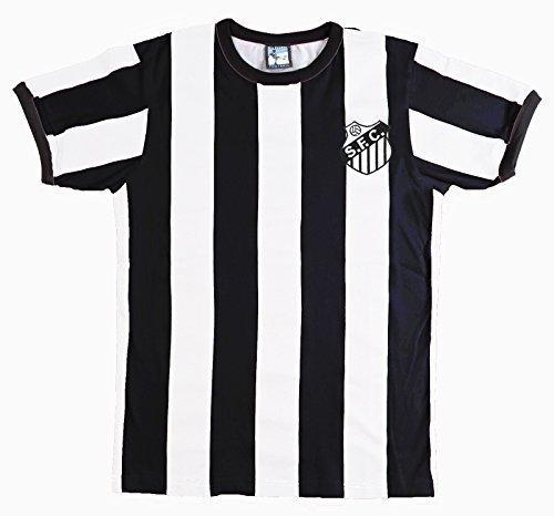 retro-santos-annees-1960-football-t-shirt-avec-brode-badge-x-large