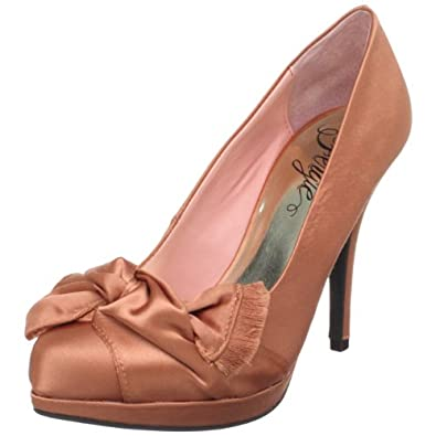 Fergie Women's Delighted Pump,Coral,7 M US