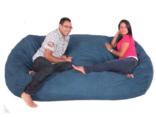 Cozy Sac Bean Bag Chair Love Seat 3 4 5 6 7 Feet Medium X Large Xx Large