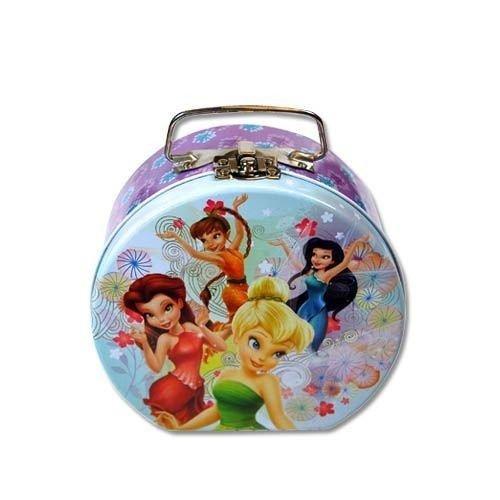 Disney Tinkerbell Deluxe Semi Round Tin Box - 1