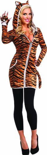 Rubie's Women's Halloween Sensations Urban Tiger Costume
