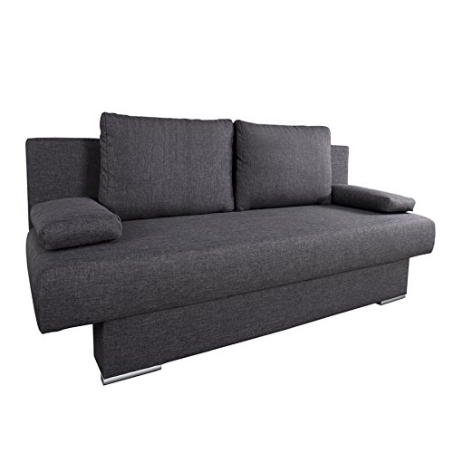 BARCLAYS Design Schlafsofa  in anthrazit thumbnail