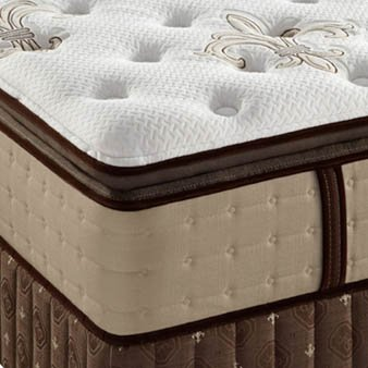 King Stearns & Foster Estate East Cape Luxury Plush Euro Pillowtop Mattress