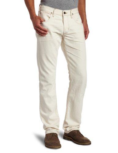 Hudson Jeans Men's Byron Straight Leg Selvedge Jeanin Ecru