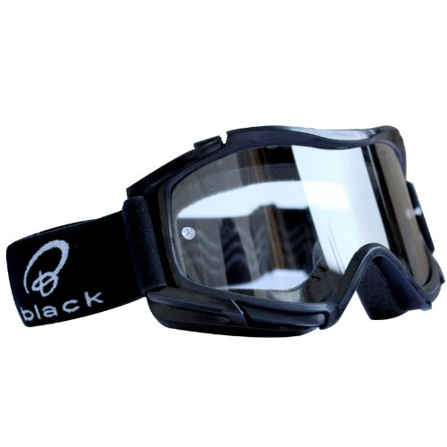 5089-0100 - Black Rock Motocross Goggles Black