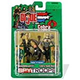 G.I.JOE SPY TROOPS Beachhead vs. Cobra Sand Viper 2 pack [Toy]