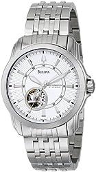 Bulova Men's 96A100 Automatic Self-Winding Mechanical Exhibition Caseback Bracelet Watch