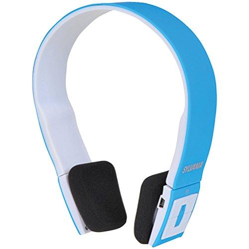 Sylvania Sbt214-Blue Bluetooth Stereo Headphones