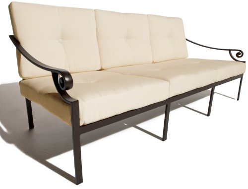 Strathwood Falkner 3-Seater Deep Lounge Sofa
