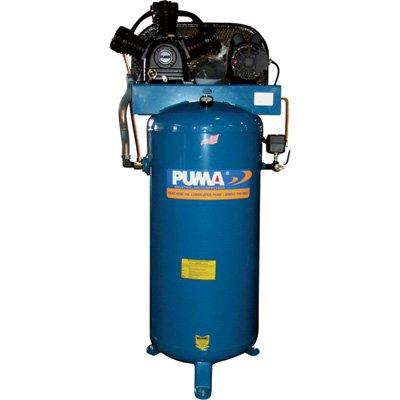 Puma Belt-Drive Stationary Vertical Air Compressor - 60-Gallon Vertical, 5 HP, 18.2 CFM, Model# PK7060VS