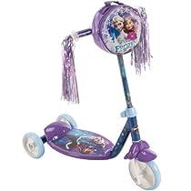 Huffy Disney Frozen Preschool Scooter, Resin Wheels with PVC Tires