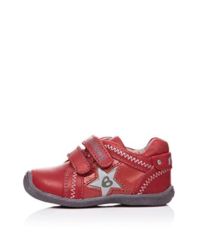BILLOWY Deportivos Dos Velcros Rojo