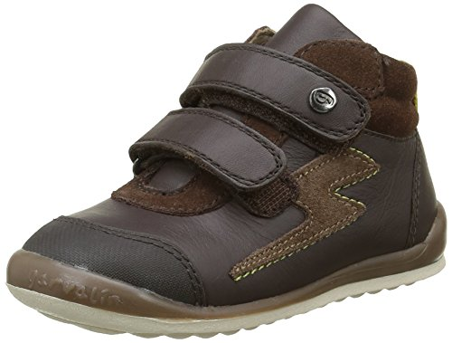 GarvalinFormby - Sneaker Bambino , Marrone (Marron(B/Mokka)), 28