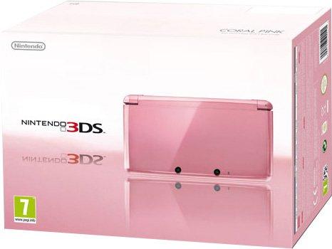 Nintendo 3DS - Console, Rosa Corallo