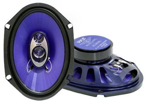 Pyle PL683BL 6-Inch x 8-Inch 360 Watt Three-Way 