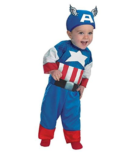 Marvel Captain America Baby Boys' Toddler Dress Up Costume