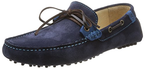Schmoove - Panamah Chill, scarpe oxford  da uomo, blu(blue (navy)), 41
