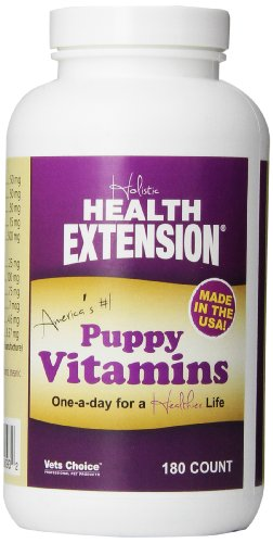 Health Extension Immune Booster Puppy Vitamins, 180-Count
