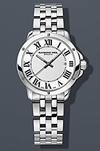 Raymond Weil Tango White Dial Stainless Steel Ladies Watch 5391-ST-00300
