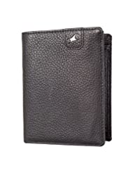 Fastrack Black Men's Wallet (C0356LBK01)