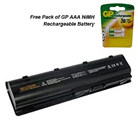 HP 2000-BF69WM Laptop Battery - Premium Powerwarehouse Battery 6 Cell
