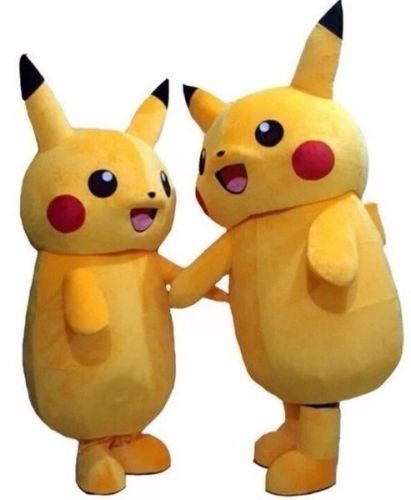 Pokemon Mascot Costume Pikachu Costume Halloween Idea
