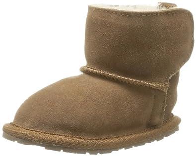 Emu Unisex-Baby Toddle First Walking Shoes B10737 Chestnut 12-18 Months, 17 EU, Regular