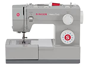 SINGER 4423 Heavy Duty Extra-High Sewing Speed Sewing Machine with Metal Frame and Stainless Steel Bedplate
